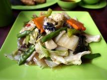 O alimento asiático chamou o chop suey imagens de stock