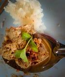 O alimento do nordeste e o fígado doce colam com arroz glutinoso e Fotografia de Stock