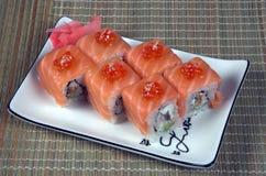 O alimento japonês saboroso do arroz Fotografia de Stock Royalty Free