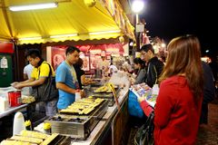 13o alimento 2013 justo de Macau Foto de Stock