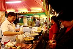 13o alimento 2013 justo de Macau Imagens de Stock Royalty Free