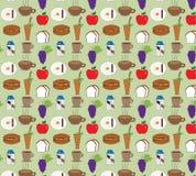 O alimento modela fundos Foto de Stock