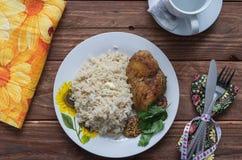 O almoço da aptidão Fotografia de Stock