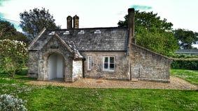 O alojamento velho da igreja Imagem de Stock Royalty Free