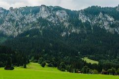 O Alpes. Imagens de Stock