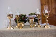 O altar é iluminado pela luz solar foto de stock royalty free