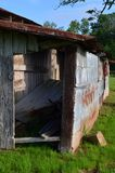 O amanhecer 06 do celeiro de Louisiana adiciona sobre fotos de stock royalty free