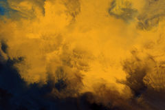 O amarelo abstrato colore o fundo imagem de stock royalty free
