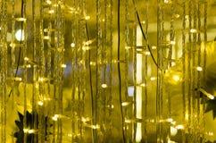 O amarelo conduziu luzes Imagens de Stock Royalty Free