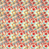 O amarelo do vermelho azul circunda o fundo abstrato psicadélico Foto de Stock