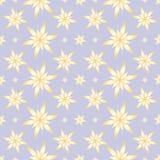 O amarelo floresce o fundo sem emenda Imagem de Stock Royalty Free