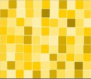O amarelo telha o fundo Ilustração Stock