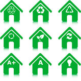 O ambiente, recicl e economia de energia Fotos de Stock