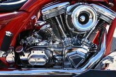 O americano fez a motocicleta de Harley Davidson Screamin 'Eagle foto de stock royalty free