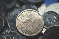 O americano inventa o fundo imagem de stock royalty free