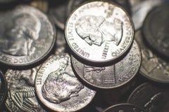 O americano isolado inventa o fundo foto de stock royalty free