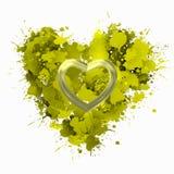O amor é amor no amarelo Fotos de Stock