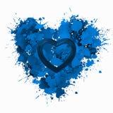 O amor é amor no azul Foto de Stock
