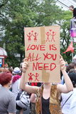 O amor é tudo que você precisa Imagens de Stock Royalty Free
