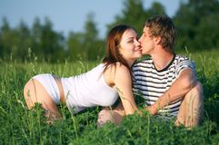 O amor é? Fotos de Stock