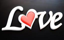 O amor da palavra Imagens de Stock Royalty Free