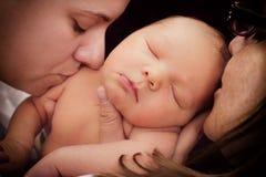O amor de mãe Imagem de Stock Royalty Free