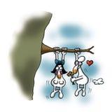 O amor está em toda parte Imagens de Stock