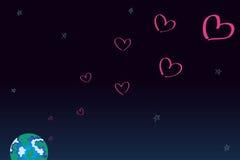O amor está em toda parte Foto de Stock