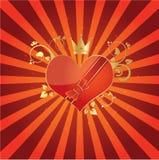 O amor está no ar Imagem de Stock Royalty Free