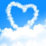 O amor está no ar Foto de Stock