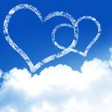 O amor está no ar Imagens de Stock Royalty Free