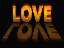 O amor inflama a textura do fundo do incêndio Fotos de Stock