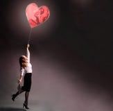 O amor levanta acima Foto de Stock