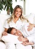 O amor relaxa fotos de stock royalty free