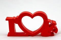 O amor trabalha maravilhas imagens de stock