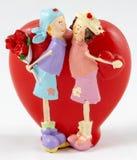 O amor trabalha maravilhas fotografia de stock royalty free