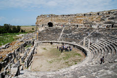 O amphitheater de Milet Imagem de Stock Royalty Free