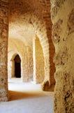 O Amphitheatre romano Fotos de Stock