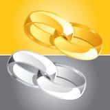 O anel ajustou 2 Fotografia de Stock Royalty Free