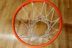 O anel do basquetebol Fotos de Stock Royalty Free