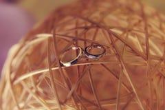 Aliança de casamento Fotografia de Stock Royalty Free