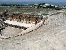 O anfiteatro de Hierapolis Foto de Stock Royalty Free