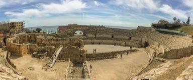 O anfiteatro dos grandios, uma construção dos séculos passados imagem de stock royalty free