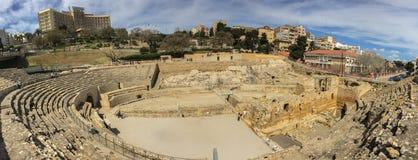O anfiteatro dos grandios, uma construção dos séculos passados Foto de Stock