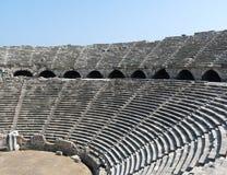 O anfiteatro lateral, lado imagem de stock