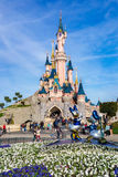 25o aniversário de Disneylândia Paris Fotografia de Stock