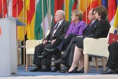 20o aniversário do colapso do comunismo na Europa Central Foto de Stock