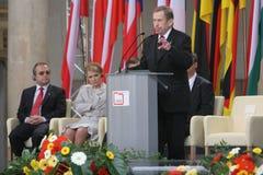 20o aniversário do colapso do comunismo na Europa Central Imagens de Stock Royalty Free