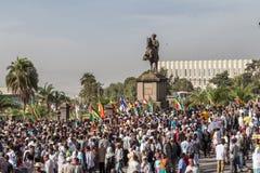 119o aniversario de la victoria de la batalla de Adwa Imagen de archivo libre de regalías