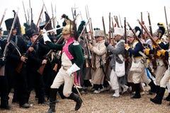 200o aniversario de Leipzig de la batalla de las naciones imagen de archivo